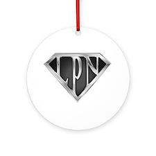 SuperLPN(metal) Ornament (Round)