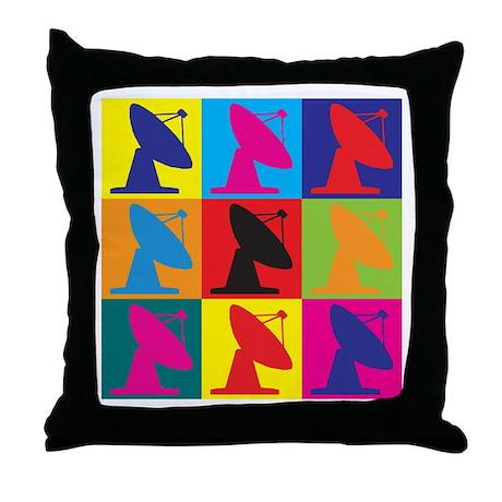 Astrophysics Pop Art Throw Pillow