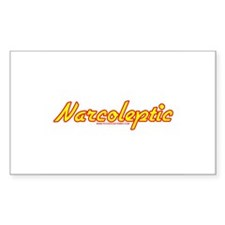 Narcoleptic Rectangle Decal