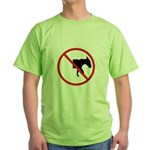 No Half-Assed Green T-Shirt