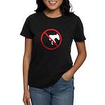 No Half-Assed Women's Dark T-Shirt