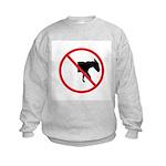 No Half-Assed Kids Sweatshirt