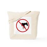 No Half-Assed Tote Bag