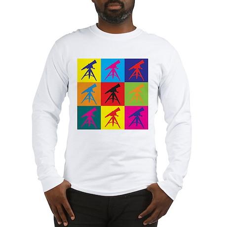 Astronomy Pop Art Long Sleeve T-Shirt