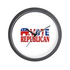 Vote Republican! Wall Clock