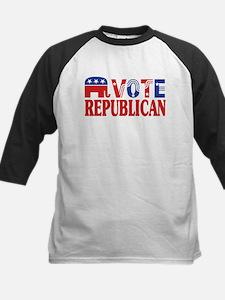 Vote Republican! Kids Baseball Jersey