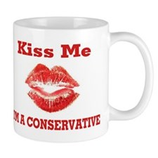 Kiss Me....Conservative Mug