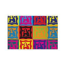 Art History Pop Art Rectangle Magnet