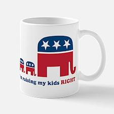 Raising My Kids Right Mug