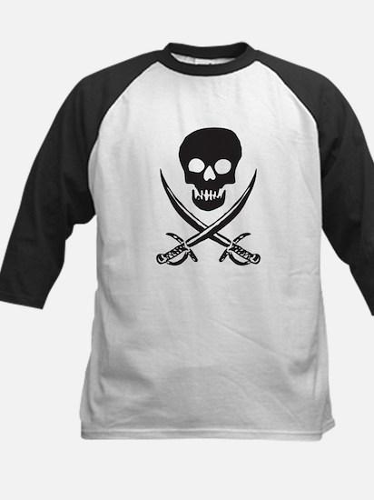 Skull & Swords Kids Baseball Jersey