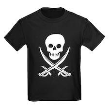 Skull & Swords (White) T