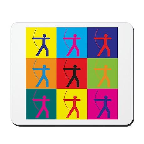 Archery Pop Art Mousepad
