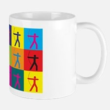 Archery Pop Art Mug