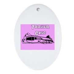 Trailer Chic Keepsake (Oval)