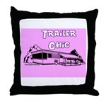 Trailer Chic Throw Pillow