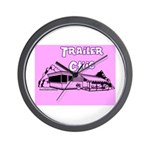 Trailer Chic Wall Clock