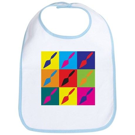 Archaeology Pop Art Bib