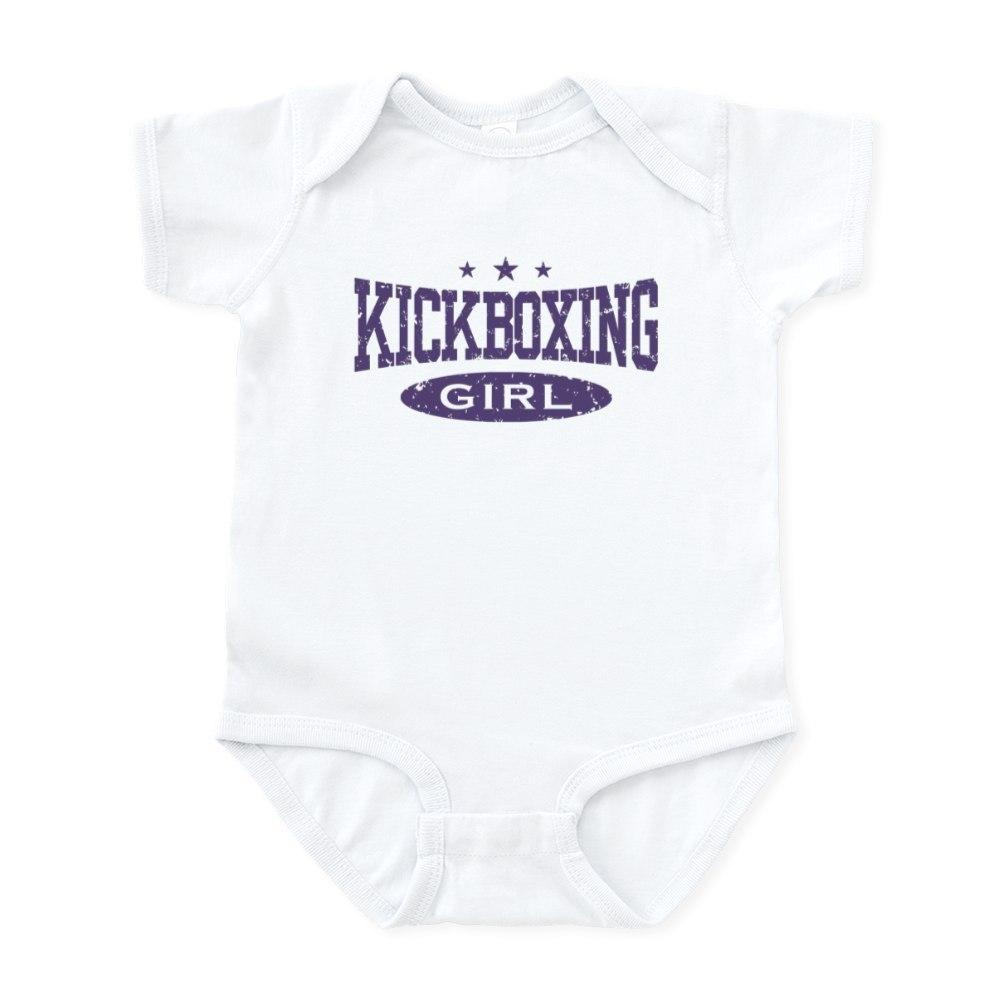 279236985 CafePress Kickboxing Girl Infant Bodysuit Baby Bodysuit