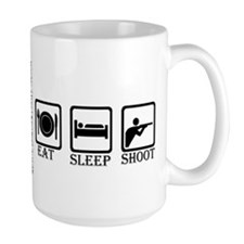 "ShortPockets ""Eat, Sleep, Shoot"" Mug"