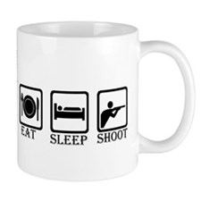 "ShortPockets ""Eat, Sleep, Shoot"" Small Mug"