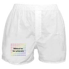 Cute Crocheting Boxer Shorts