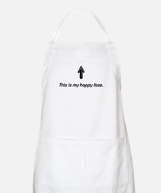 This is my happy face. BBQ Apron
