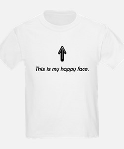 This is my happy face. Kids T-Shirt