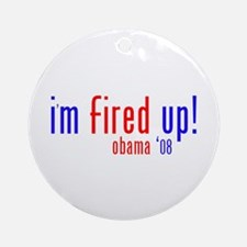 i'm fired up! Ornament (Round)