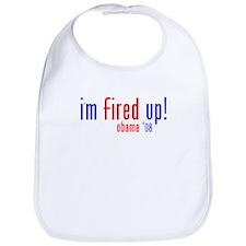 i'm fired up! Bib