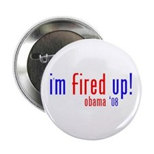 "i'm fired up! 2.25"" Button"