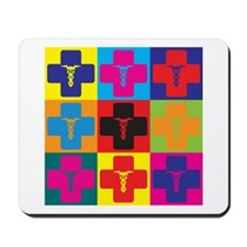 Anesthesiology Pop Art Mousepad