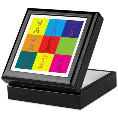 Amateur Radio Pop Art Keepsake Box