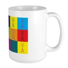 Amateur Radio Pop Art Mug