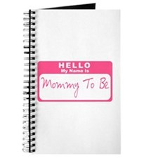 My Name Is Mommy To Be (Pink) Journal