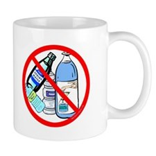 No To Bottled Water Mug