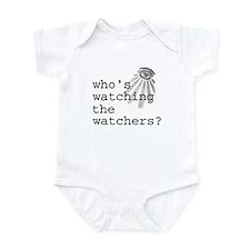 Watching the Watchers Infant Bodysuit
