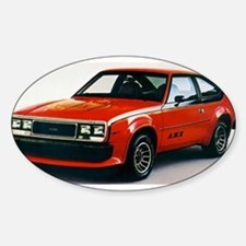 AMC AMX Oval Decal