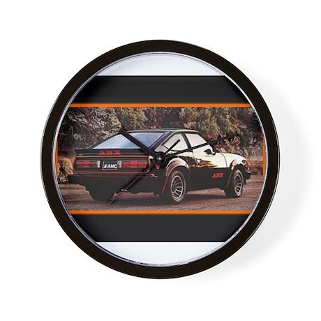 Black AMX Wall Clock