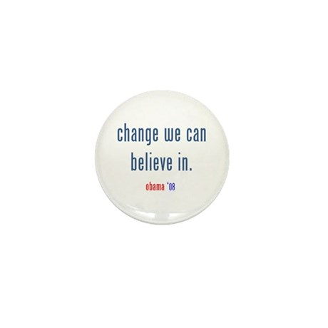 change we can believe in Mini Button (100 pack)