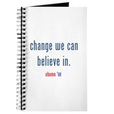 change we can believe in Journal