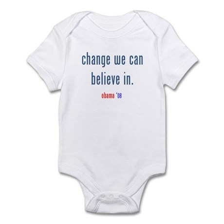 change we can believe in Infant Bodysuit