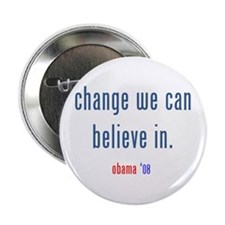 "change we can believe in 2.25"" Button (10 pac"