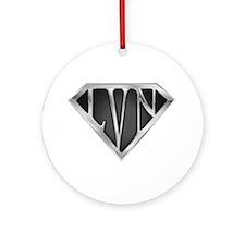 SuperLVN(metal) Ornament (Round)