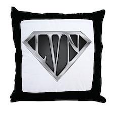 SuperLVN(metal) Throw Pillow