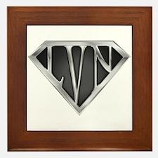 SuperLVN(metal) Framed Tile