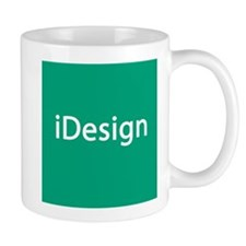 iDesign, Teal Interior Design Small Mug