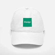 iDesign, Teal Interior Design Baseball Baseball Cap