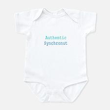 Cute Synchronized swimming Infant Bodysuit