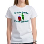 You Know Where Women's T-Shirt