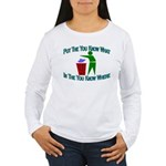 You Know Where Women's Long Sleeve T-Shirt